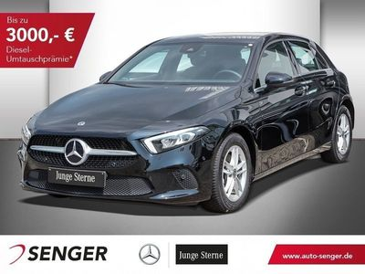 gebraucht Mercedes A200 NAVI+SHZ+LED+KAMERA+PARK/LICHT-PAKET