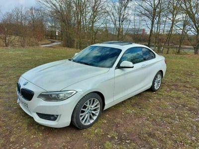 gebraucht BMW 228 i Coupe Aut. als Sportwagen/Coupé in Nürnberg