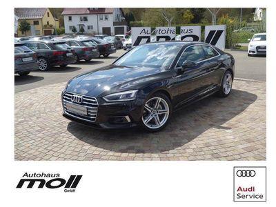 gebraucht Audi A5 Coupé Sport 2.0 TDI S-tronic LED, S-line Spor