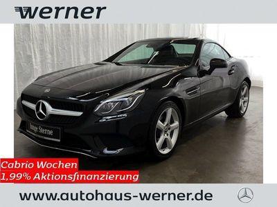 gebraucht Mercedes 180 SLCAutomatik Pano+LED-ILS+Airscarf+Navi+TWA