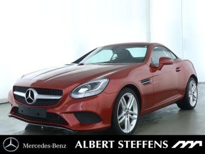 gebraucht Mercedes 180 SLCAMG Line schwarz * Sportpaket*Totw.*Navi*
