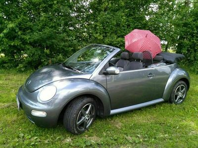 gebraucht VW Beetle Cabrio, elektr. Dach, 75KW, unfallfrei, HU 3/22