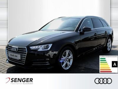 gebraucht Audi A4 sport 2.0 TDI Navi Xenon Tempomat Sitzh