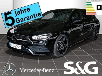 gebraucht Mercedes CLA200 Shooting Brake AMG-Line LED/360°K/Night/