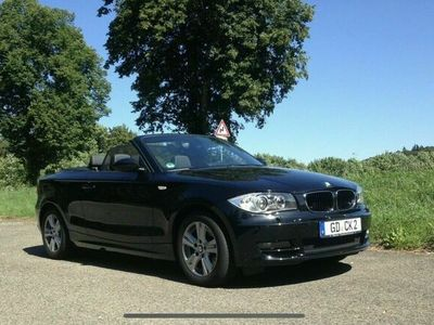 gebraucht BMW 120 Cabriolet d Leder Navi Klima