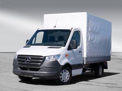 gebraucht Mercedes Sprinter 316 CDI Pritsche Plane Klima, AHK 3,5t