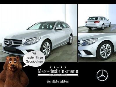 gebraucht Mercedes C220 d T-Modell AVANTGARDE/LED/SHZ/AHK Parktronic/DPF