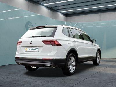 gebraucht VW Tiguan Allspace Tiguan1.5TSI DSG Highline Navi LED ALU