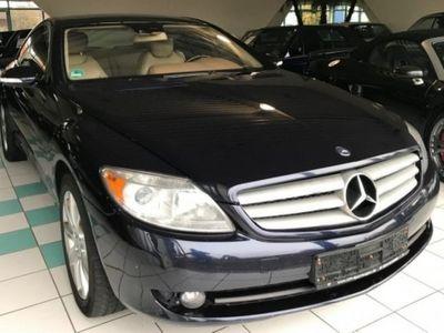 gebraucht Mercedes CL500 MIT LPG UND TOPAUSSTATTUNG
