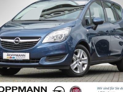 gebraucht Opel Meriva B Edition 1.4 Turbo Multif.Lenkrad Klima Temp CD RDC AUX ESP MAL Spieg. beheizbar