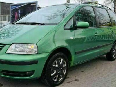 gebraucht VW Sharan Comfortline Automatik, Klima, 7 Sitzer