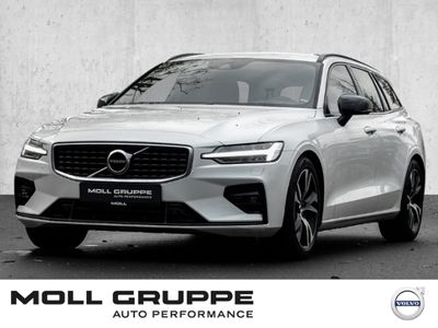 gebraucht Volvo V60 Kombi R-Design D4 EU6d-T NAVI LED ALU PDC SHZ TEMP