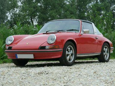 gebraucht Porsche 911 T Targa - 2.4 Einspritzer - Fuchs - Pepita