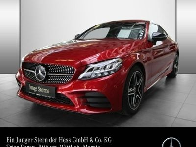 gebraucht Mercedes C200 Coupé AMG Night LED Navi Kamera Park-Pilot