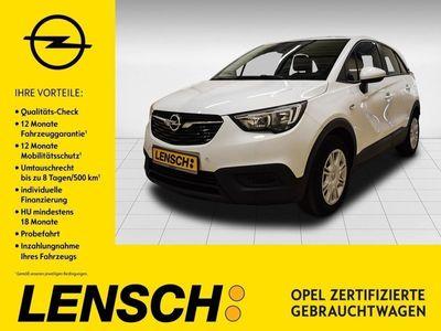 gebraucht Opel Crossland X 1.2 Edition *IntelliLink*Klima*PDC*