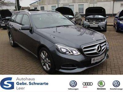 gebraucht Mercedes E220 CDI Avantgarde 4Matic AHK GSD LED NAVI TEM
