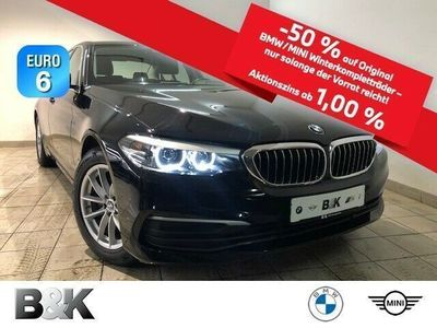 gebraucht BMW 520 i Bluetooth Navi LED Klima PDC el. Fenster