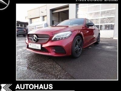 gebraucht Mercedes C200 Coupe, AMG, LED, MOPF, Kamera