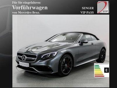 gebraucht Mercedes S63 AMG S-KlasseAMG 4M Cabrio Exclusiv-Paket Aircap 360°K.