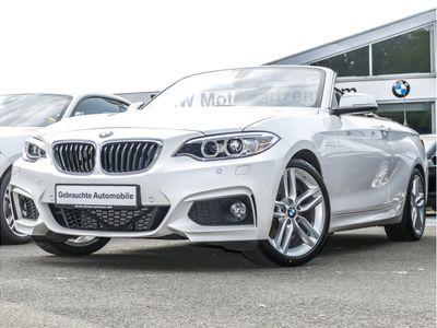 gebraucht BMW 228 i Cabrio M Sport Navi Business Klimaaut. PDC