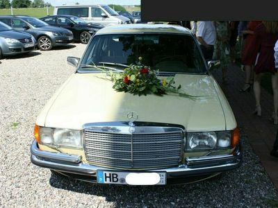 gebraucht Mercedes 280 W116SEL, Lenkradautomatik, 6-Sitzer, Klima