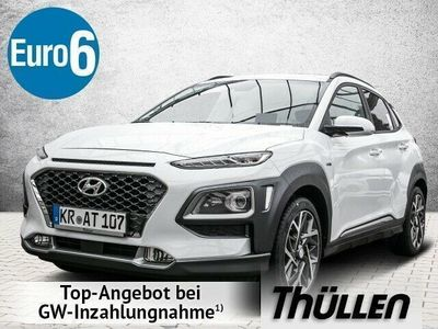 gebraucht Hyundai Kona Hybrid Premium 1.6 Benzin Head Up Display