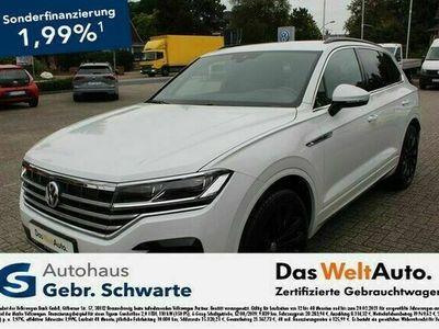 gebraucht VW Touareg 4.0 V8 TDI 4Motion R-Line HUD+LM21+LEDER
