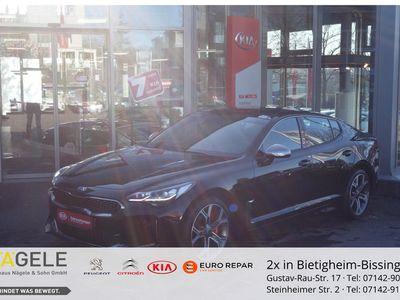 gebraucht Kia Stinger 3.3 V6 T-GDI 4WD GT Glasdach Navi/Autom.
