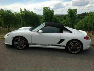 gebraucht Porsche Boxster Spyder 987, Sportfahrwerk, aus Sammlung