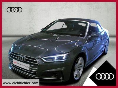 gebraucht Audi A5 Cabriolet 40 TDI quattro S tronic S line LED