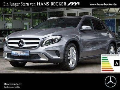 gebraucht Mercedes GLA220 D 4M Urban Leder DAB Kamera Spur-Paket
