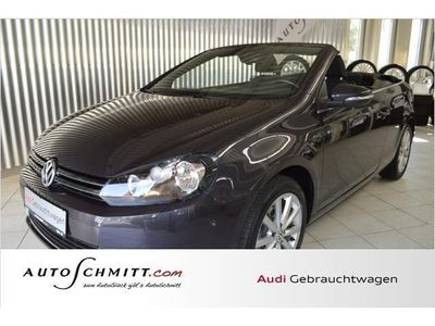 gebraucht VW Golf Cabriolet VI 1.6 TDI Lounge Navi Climatronic (Klim