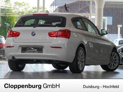 gebraucht BMW 118 d Advantage NAVI LED TEMPOMAT SITZHZG PDC ALU BLUE