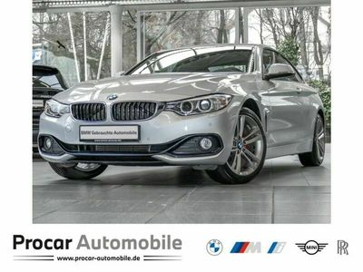 gebraucht BMW 420 4er i xDrive Coupe Sport Line