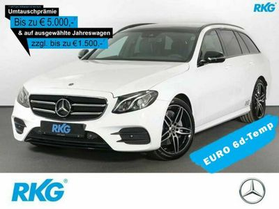 used Mercedes E300 T AMG*Comand*Pano.-Dach*Spur-Paket*Night