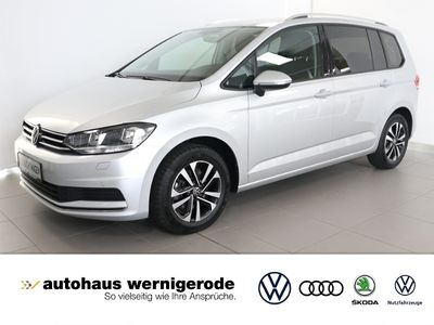 gebraucht VW Touran United 2.0 TDI *Pano *AHK *7-Sitzer KLIMA NAVI ALU -