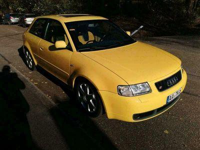 gebraucht Audi S3 8L APY Imolagelb/Alcantara/ATM/Tur...