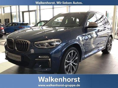 gebraucht BMW X3 M40 d EU6d-T Park-Assistent LED Navi Keyless Kurvenlicht e-Sitze HUD ACC Parklenkass.