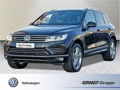 gebraucht VW Touareg 3.0 TDI R-Line Xenon Navi Leder AHK Standheiz GRA LM PDC BMT