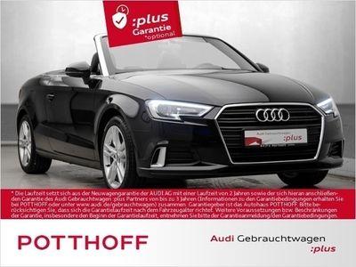 gebraucht Audi A3 Cabriolet 1.5 TFSi Sport Navi Sitzhzg Xenon (Klima