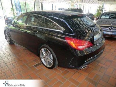 gebraucht Mercedes CLA250 Shooting Brake AMG Line Sportpaket Leder