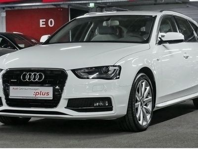 gebraucht Audi A4 Avant 2.0TDI quattro S line Side Navi Alcant.