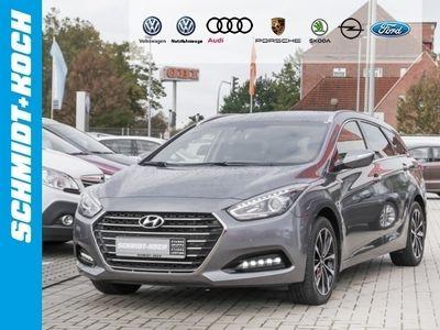 gebraucht Hyundai i40 1.7 CRDi Style Blue DCT Navi RÃckfahrk. DSG