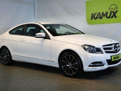 gebraucht Mercedes C200 CGI 7G-Tronic Coupe +Navi +Teil-Leder +2x PDC