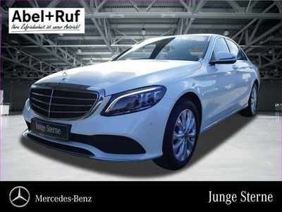 gebraucht Mercedes C220 d 4MATIC Exclusive+LED+SHZ+Navi+Kamera+PDC