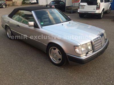 gebraucht Mercedes E300 CE-24 Cabrio / aus 1. Erstbesitz /Leder/