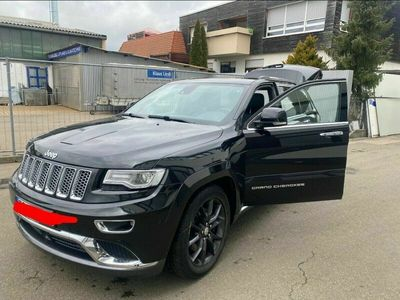 gebraucht Jeep Grand Cherokee 3.0I Multijet Summit als SUV/Geländewagen/Pickup in Aichtal
