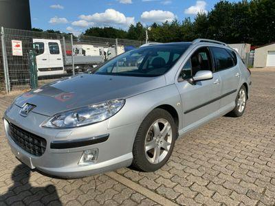 gebraucht Peugeot 407 SW Platinum Panora*JBL*Leder*AHK*Alufelgen