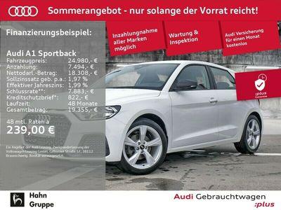 gebraucht Audi A1 Sportback 35TFSI S-Trc advanced Einpark Sitzh Tempo