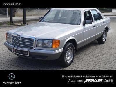 gebraucht Mercedes 380 SE 1.Hand Scheckheft